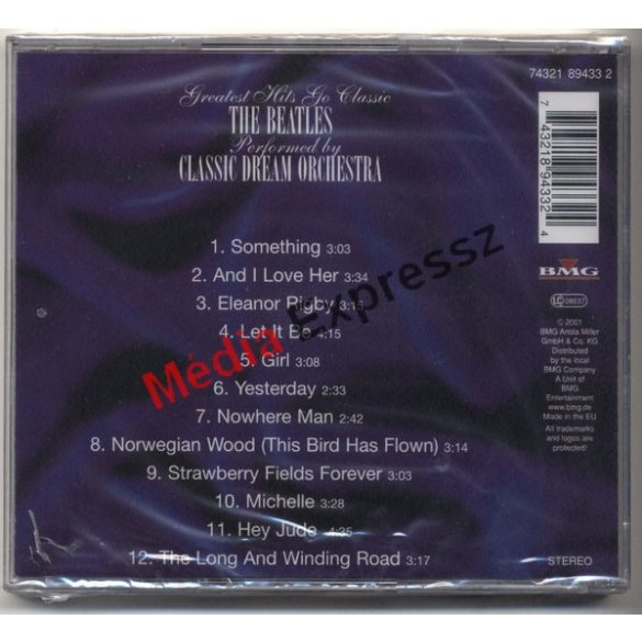 Classic Dream Orchestra – Greatest Hits Go Classic The Beatles