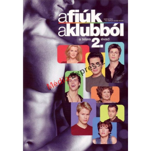 A fiúk a klubból - 2. évad (5 DVD)