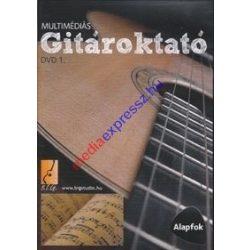 Multimédiás Gitároktató 1 DVD