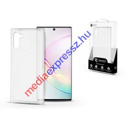 Samsung N970F Galaxy Note 10 szilikon hátlap - Roar Carbon Armor Ultra-Light Soft Case - clear