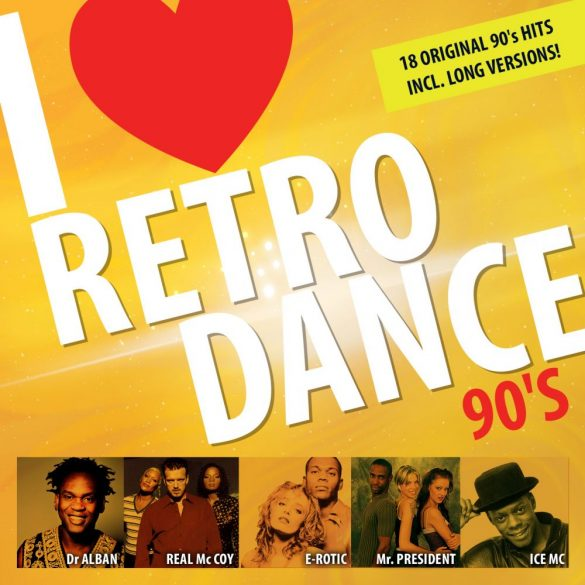 I Love Retro Dance 90's