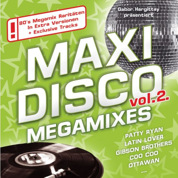 MAXI DISCO MEGAMIXES Vol. 2.