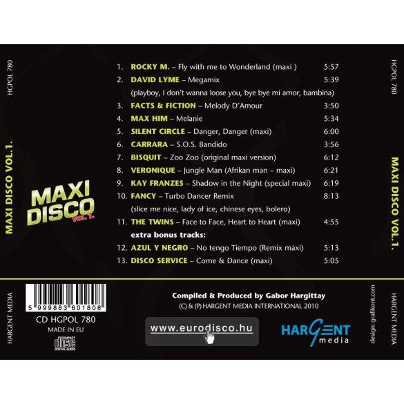 MAXI DISCO Vol. 1. - Válogatásalbum