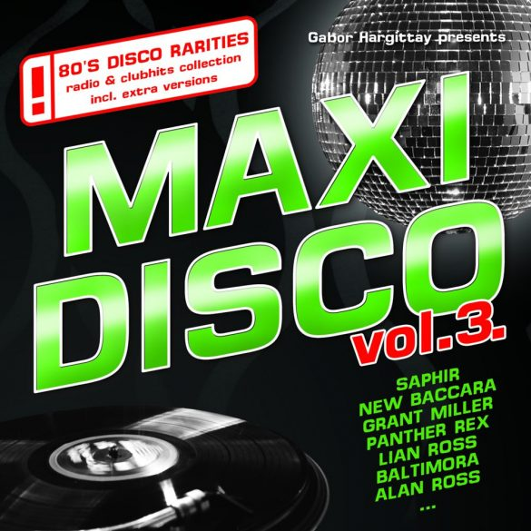 MAXI DISCO Vol. 3. - Válogatásalbum