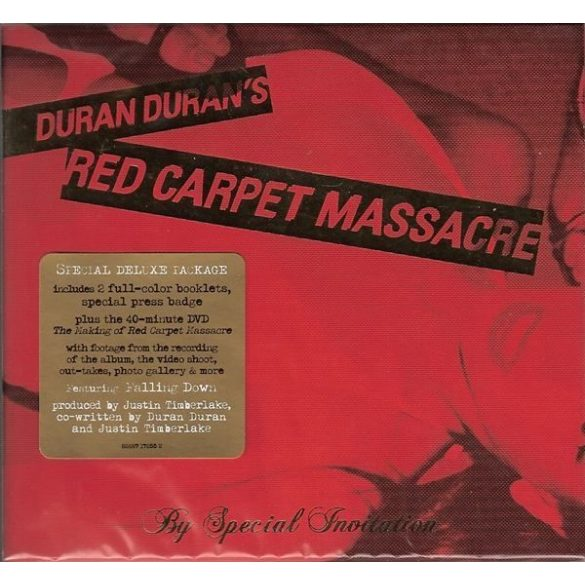 Duran Duran - Red Carpet Massacre  (CD+DVD)  ****