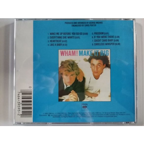 Wham - Make It Big (USA Version) ***