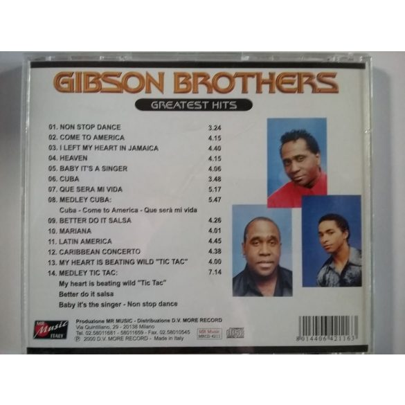 Gibson Brothers - Greatest Hits ***