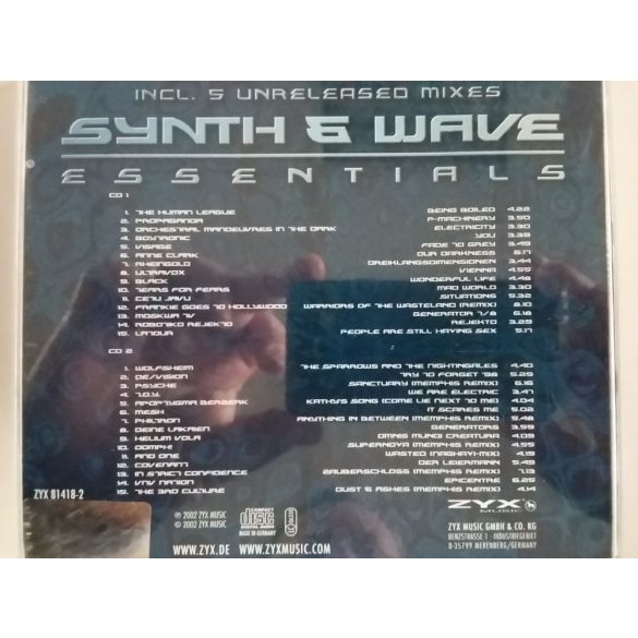 Synth & Wave - Essentials (2 CD)  *** (Dupla CD)