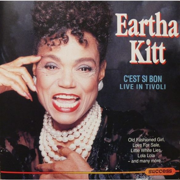 Eartha Kitt - C'est Si Bon Live in Tivoli