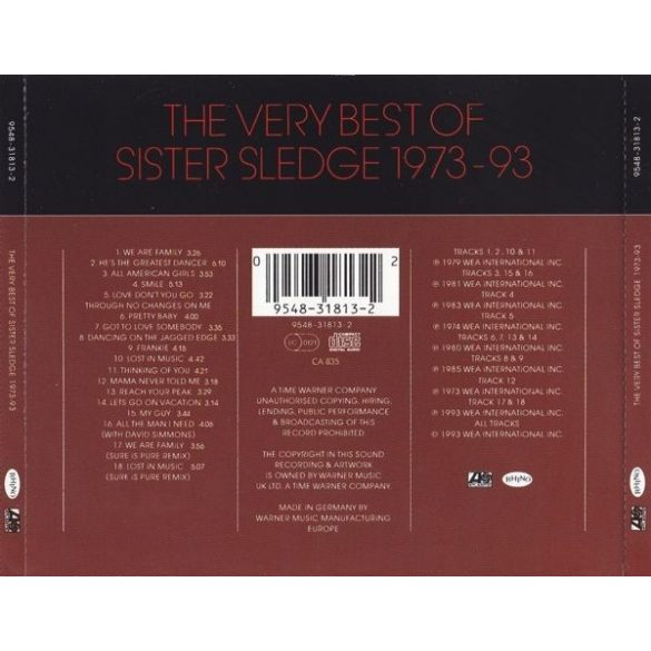 Sister Sledge - The Very Best of 1973-93