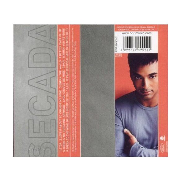 Jon Secada - Better Part of Me  ****