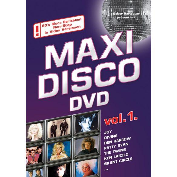MAXI DISCO DVD Vol. 1. - Válogatás DVD
