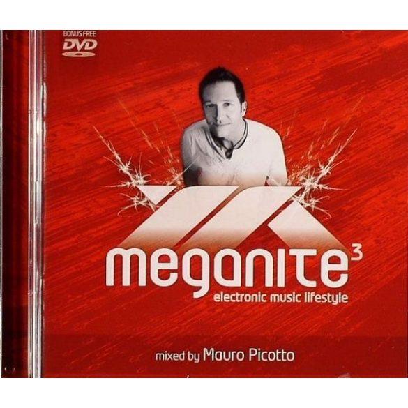 Mauro Picotto - Meganite3 (CD+DVD)  **** (Dupla lemezes)