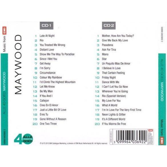 Maywood - Alle 40 Goed  (2 CD)  **** (Dupla CD)