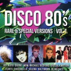 Disco 80'S RARE & SPECIAL VERSIONS VOL.1.